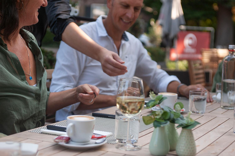 Lunch bij Bavoort _Gezelligheid