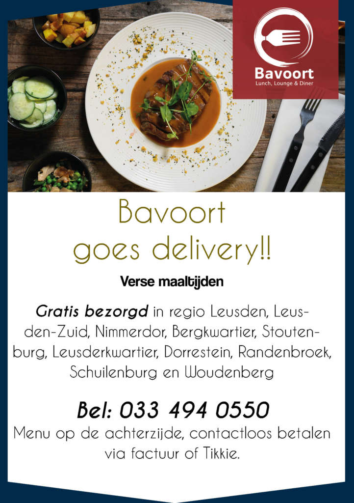 Bavoort goes delivery
